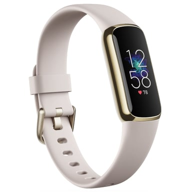 Fitbit Luxe Soft Gold/White Aktivitetspårare Guld