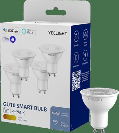 Yeelight Smart LED GU10 W1 Multicolor 4-Pack