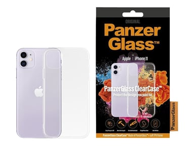 Panzerglass ClearCase iPhone 11 Transparant