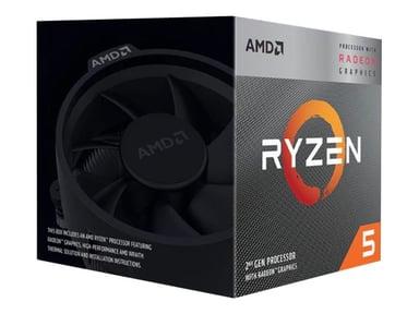 AMD Ryzen 5 3400G SR2A 3.7GHz Socket AM4 Prosessor