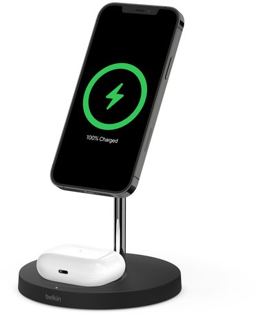 Belkin BOOST CHARGE PRO MagSafe 2-in-1 Svart