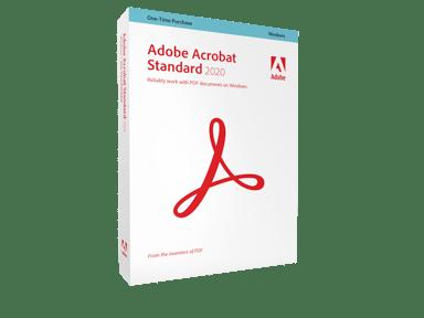 Adobe Acrobat Standard 2020 Win Swe Box