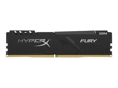 Kingston HYPERX FURY 64GB(2X32) DDR4 2666MHZ - BLACK #demo 64GB 2,666MHz DDR4 SDRAM DIMM 288-pin