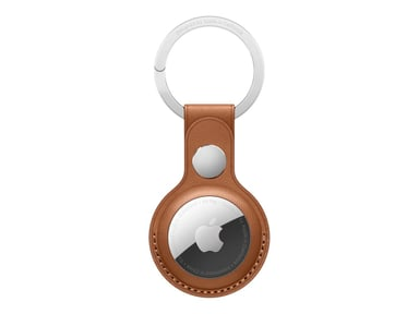 Apple AirTag Leather Key Ring