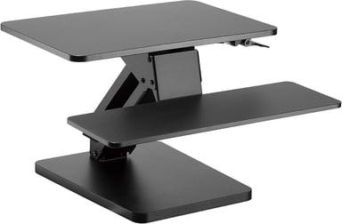 Prokord Sit-stand Desk Converter Deluxe Black