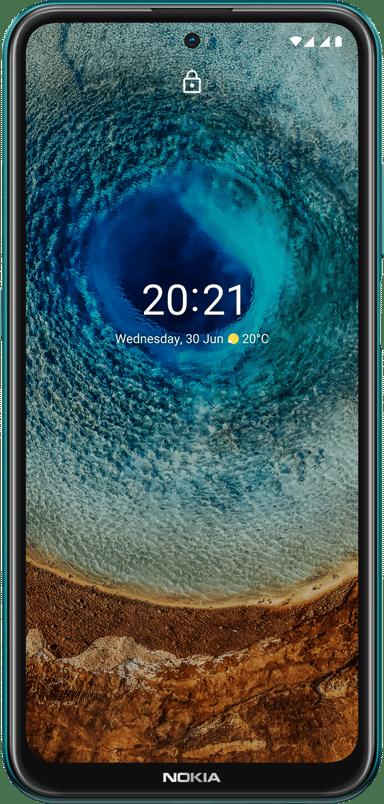 Nokia X10 64GB Dual-SIM Grön
