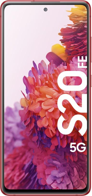 Samsung Galaxy S20 FE 5G 128GB Dobbelt-SIM Skyrød