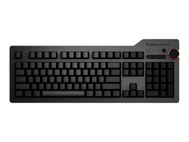 Das Keyboard 4 Ultimate Langallinen Eurooppalainen Musta