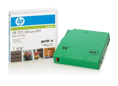 HPE RW Data Cartridge LTO Ultrium 1.6TB 1stuks