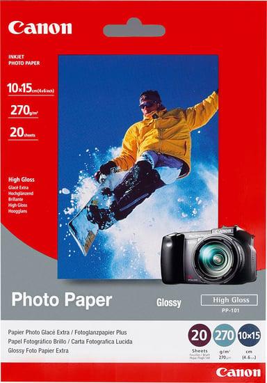 Canon Papir Photo+ Glossy II PP-201 10X15cm 50-Ark 275g