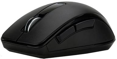 Voxicon Wireless Pro Mouse P25wl Bt+2.4Hz 1,600dpi Mus Trådlös Svart