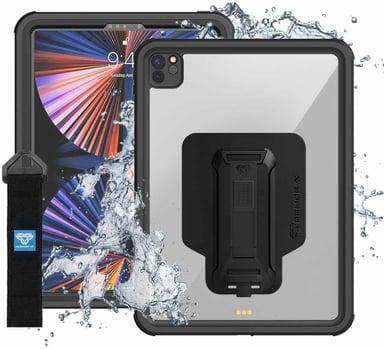 """ARMOR-X Vattentätt Fodral iPad Pro 12,9"""" (5th gen) Svart/klar"""