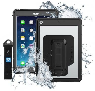 ARMOR-X Vattentätt Fodral iPad 7th gen (2019) iPad 8th gen (2020) iPad 9th gen (2021) Svart/klar