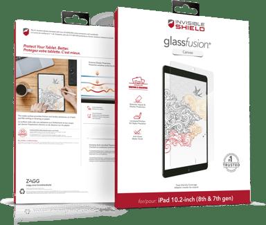 "Zagg Glassfusion+ Canvas iPad Pro 12.9"" (4th gen) iPad Pro 12.9"" (5th gen)"