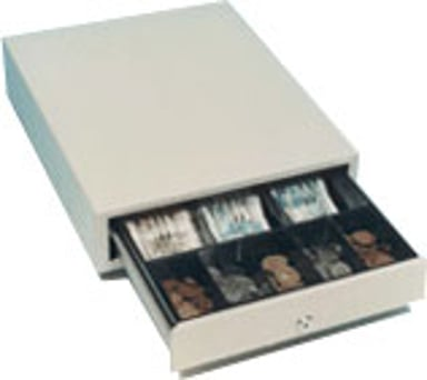 International Cash Drawer Cash Drawer SS-102 Black - Star