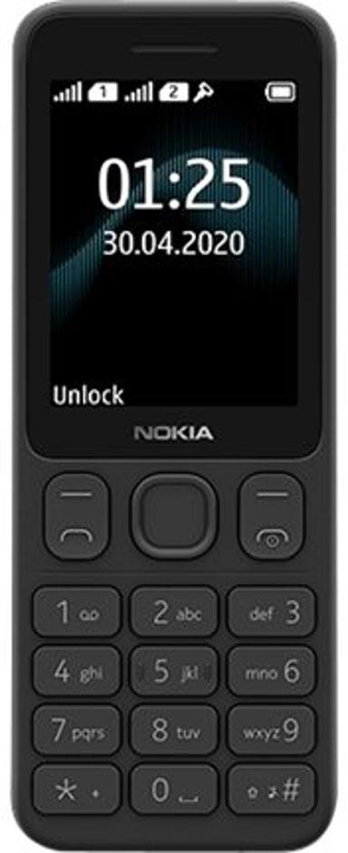 Nokia 125 Musta