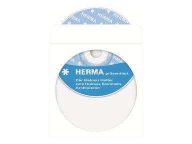 Herma CD/DVD lomme 100 PCS