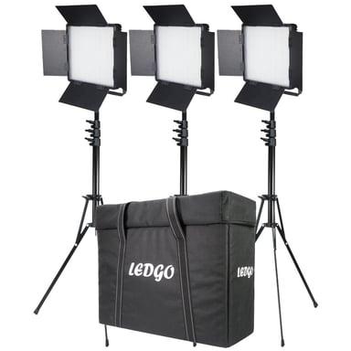 Ledgo LG-900CSCII LED Bi-Color 3-Light Kit