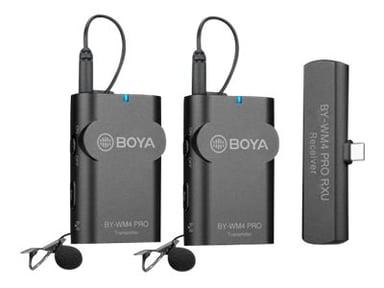 Boya BY-WM4 Pro-K6 Trådlöst Mikrofonsystem för USB-C-Enheter