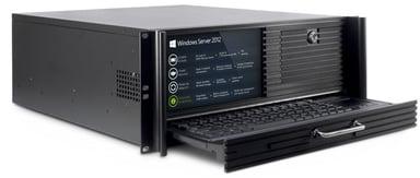 Inter-Tech 4U 4452-TFT rack chassis med indbygget skærm/tastatur