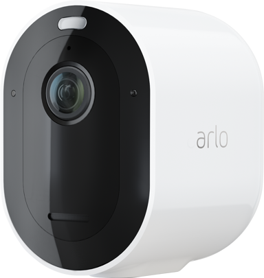 Arlo Pro 4 trådløst sikkerhedskamera hvidt 1 stk. pakke