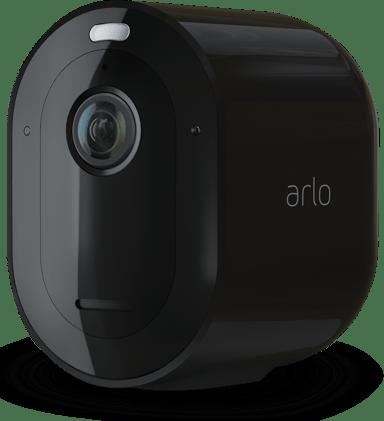 Arlo Pro 4 trådløst sikkerhedskamera sort 1 stk. pakke