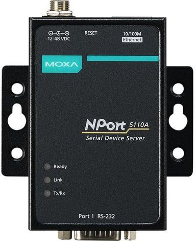 Moxa Serieportserver Nport 5110A 1Xrs-232