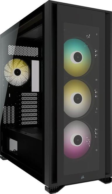 Corsair iCUE 7000X RGB Svart