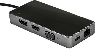Prokord Portreplicator Mini-Hub 4K 85W USB-C Mini-dockningsenhet