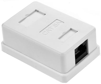 Prokord Wall Outlet 1-Port FTP Cat6a White