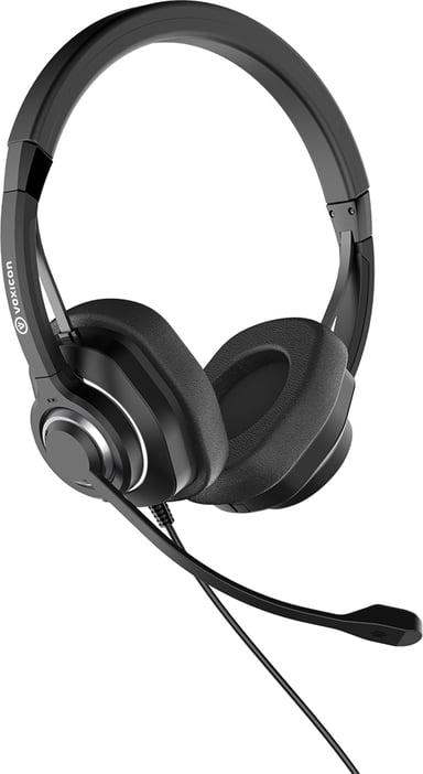 Voxicon USB-kuulokemikrofoni VXI6B ANC Musta