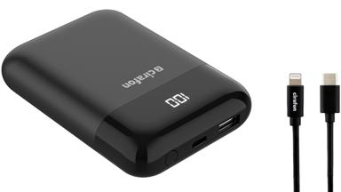 Cirafon Powerbank Premium Iphone V2 10000Mah Pd3.0 Qc3.0#kit 10,000milliampere hour 3A Zwart