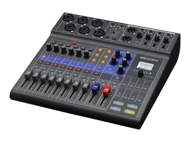 Zoom LIVETRAK L-8  POD/MIXER/RECORDER #demo