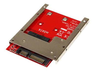 Startech .com mSATA SSD to 2.5in SATA Adapter Converter