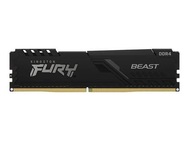 Kingston FURY Beast 16GB 3,000MHz DDR4 SDRAM DIMM 288-pin