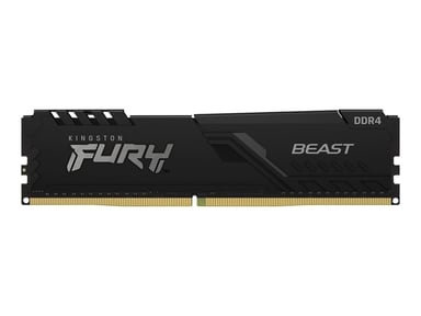 Kingston FURY Beast 32GB 3,600MHz DDR4 SDRAM DIMM 288-pin
