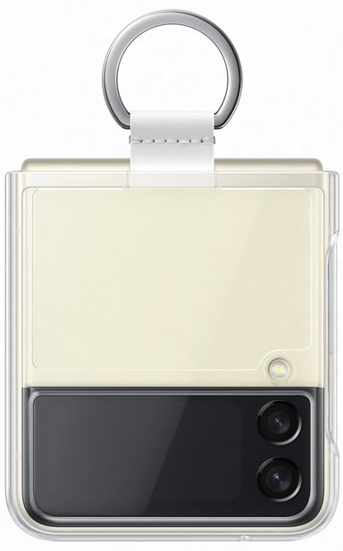 Samsung EF-PF926 Clear Cover With Ring Samsung Galaxy Z Flip 3 Transparent