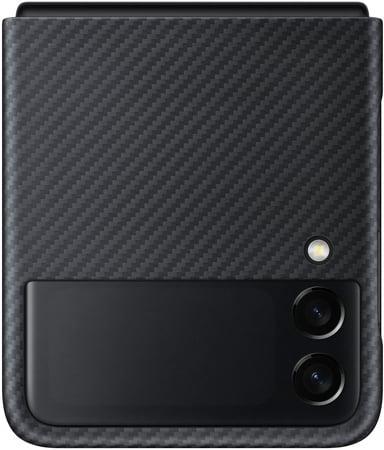 Samsung EF-XF711 Aramid Cover Samsung Galaxy Z Flip 3 Svart