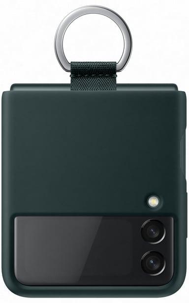 Samsung EF-PF926 Silicone Cover With Ring Samsung Galaxy Z Flip 3 Grön