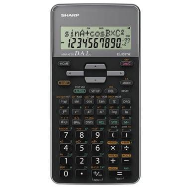 Sharp Teknisk Räknare EL-531TH Grå