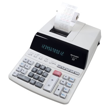 Sharp Remsräknare EL-2607PGGYSE