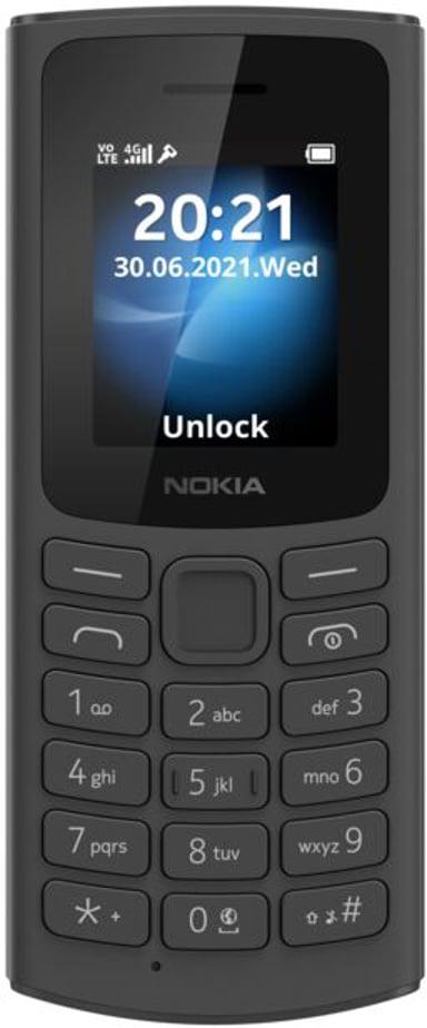 Nokia 105 4G Kaksois-SIM Musta