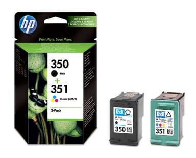 HP Blæk Kit C/M/Y/S No.350/351 - OfficeJet J5780 J5785