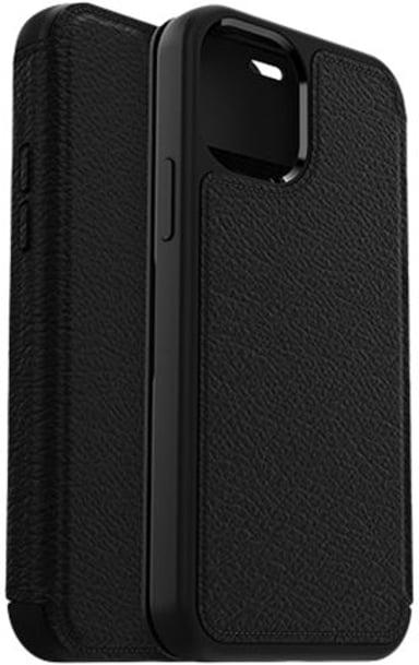 Otterbox Strada Series Folio iPhone 12 iPhone 12 Pro Skuggsvart
