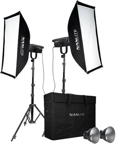 NANLITE Fs-150 LED 2 Light Kit With Stand
