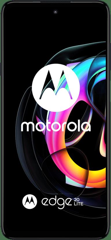 Motorola Edge 20 Lite 128GB Dual-SIM Elektrisk grafit