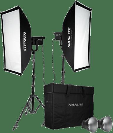 NANLITE Fs-200 LED 2 Light Kit With Stand