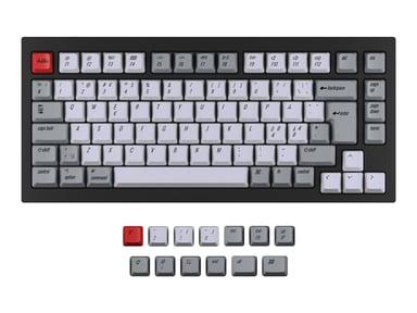 Keychron Q1 / K2 Keycap Set Retro ISO Nordic