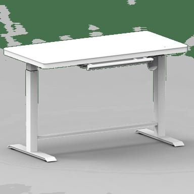 Nordic Office OmniDesk Korkeussäädettävä Pöytä 120 x 60cm Valkoinen