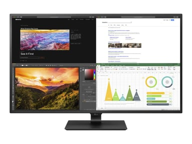 "LG 43UN700-B 43"" IPS 16:9 3840x2160 HDMI/DP/USB-C HDR 10 43"" 3840 x 2160"